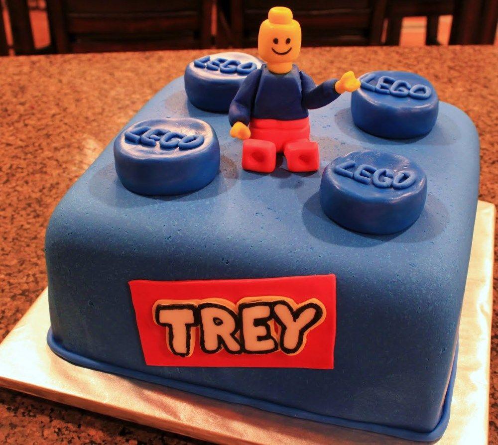 Lego Cake Best Lego Birthday Cake Idea Lego Cakes Pinterest - Lego birthday cake decorations