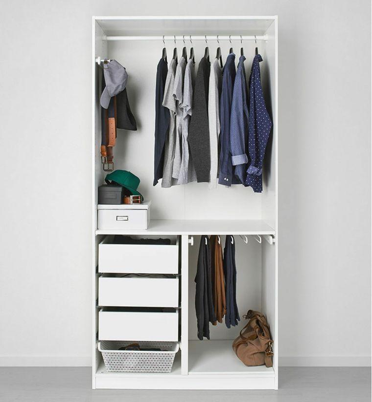Armarios baratos y pr cticos para nuestro hogar house - Interior de armarios ikea ...