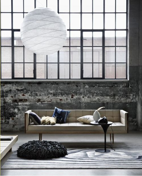 would change/add decor but love the living space :) that wall n that goant window! Id be so happy all the time with that much light all the time!