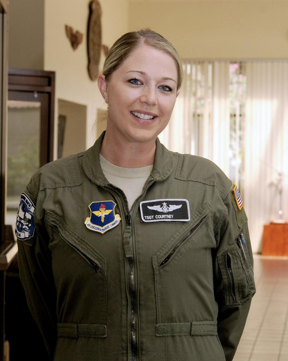 Air Force graduates its first enlisted female pilot