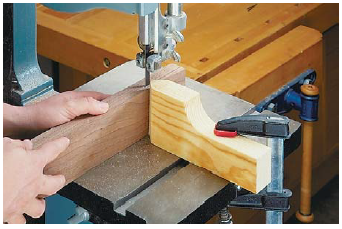 A Band Saw Is A Great Tool For Resawing Thick Lumber Into Thinner Stock But Because Most Band Saw Blades Have A Tendency To Wande Bandsaw Fence Planning Jigs