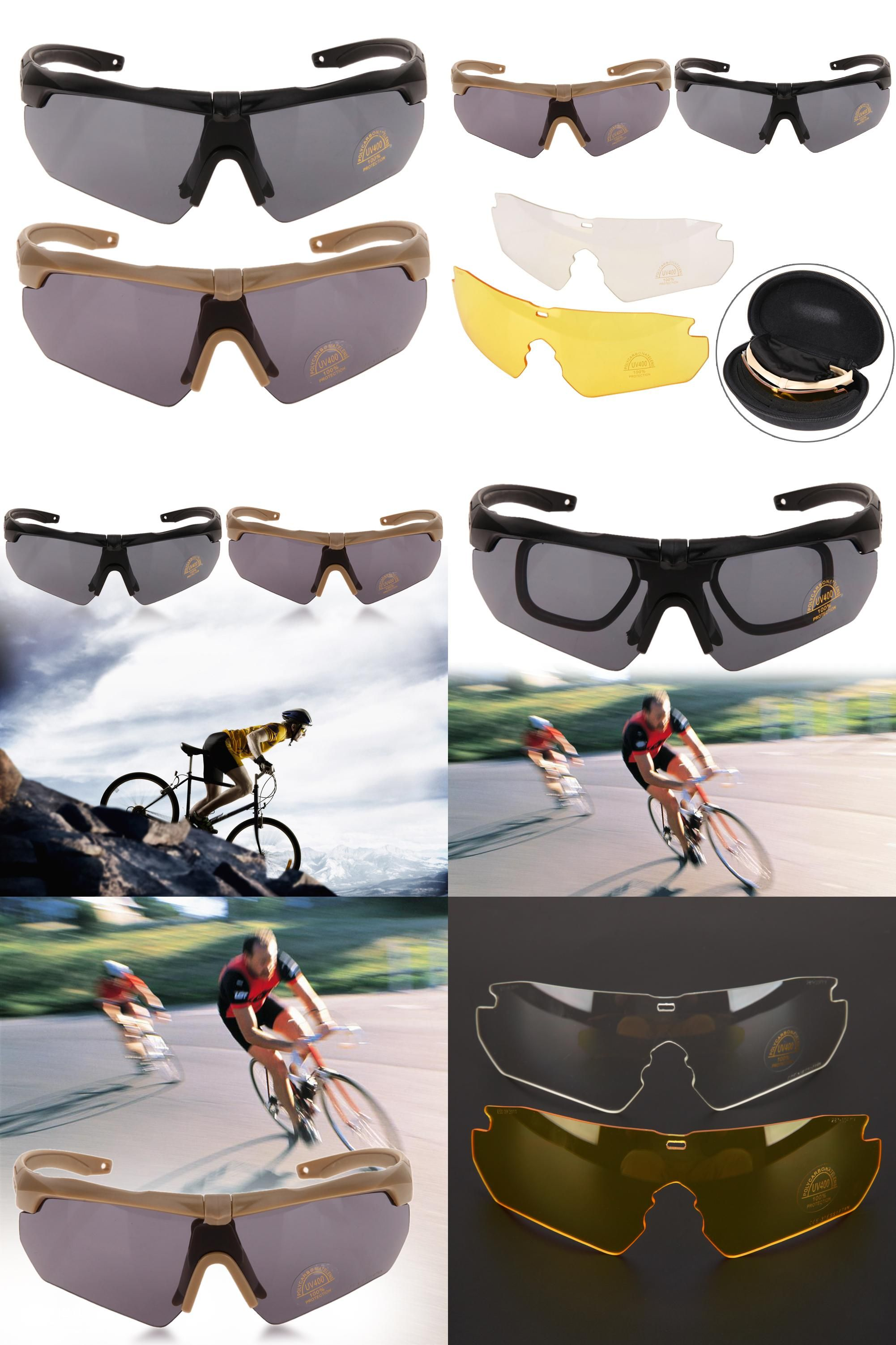 ab47640224  Visit to Buy  Tr90 Military Goggles Polarized Bike Cycling Glasses Eyewear  Outdoor Sports Bicycle