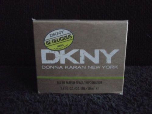 """ BE DELICIOUS "" DKNY - EAU DE PARFUM ( FULL - 50 ML/ 1.7 FL/OZ. ) NEW!"