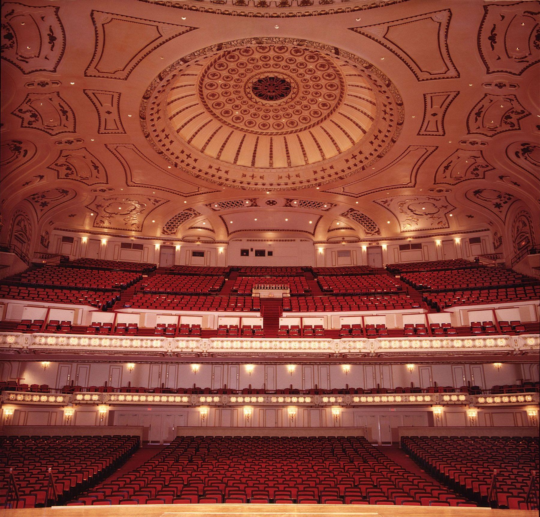 Powell hall auditorium photo by dan dreyfus powell hall