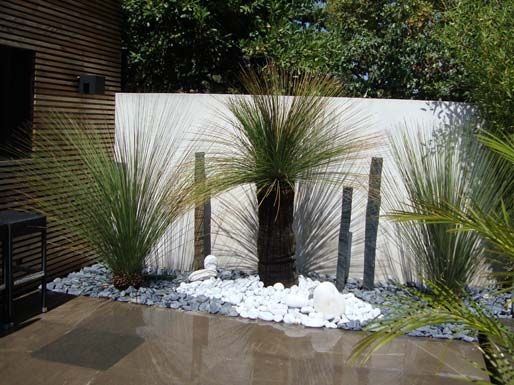 Jardins contemporain mor pinterest jardins for Jardins tropicaux contemporains