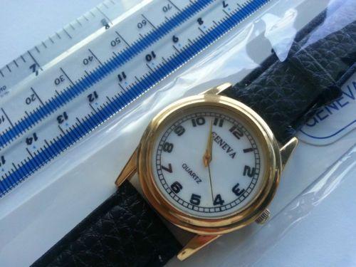 Quartz Geneva Unisex modern Watch in silver colour model: 27055