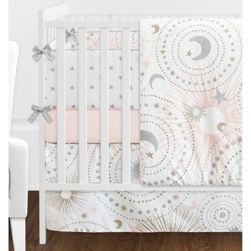 Overstock Com Online Shopping Bedding Furniture Electronics Jewelry Clothing More In 2020 Baby Girl Nursery Stars Girl Crib Bedding Sets Crib Bedding Girl