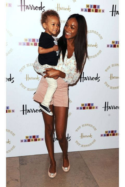 Model Moms and Their Children in Vogue | Stylish kids