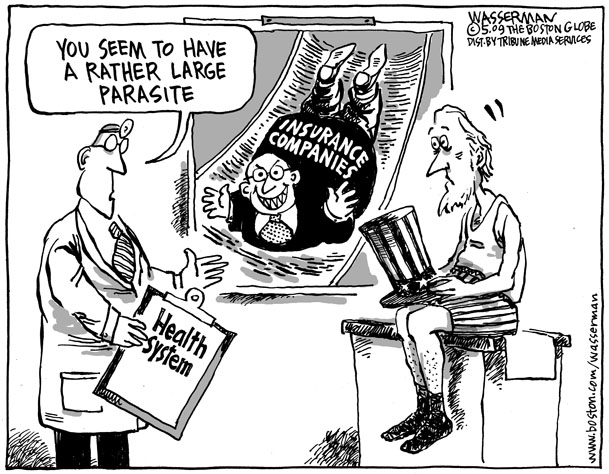 Single Payer Cartoons Physicians For A National Health Program
