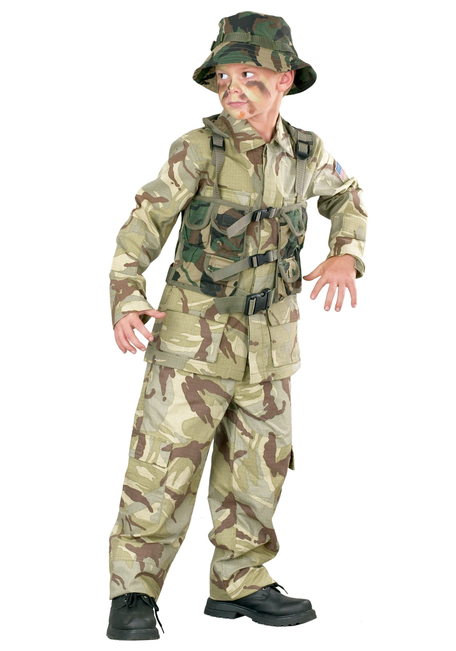 Child Delta Force Army Costume | Army costume, Delta force and ...