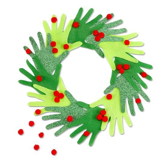 Christmas Mix Pom Poms By Creatology™