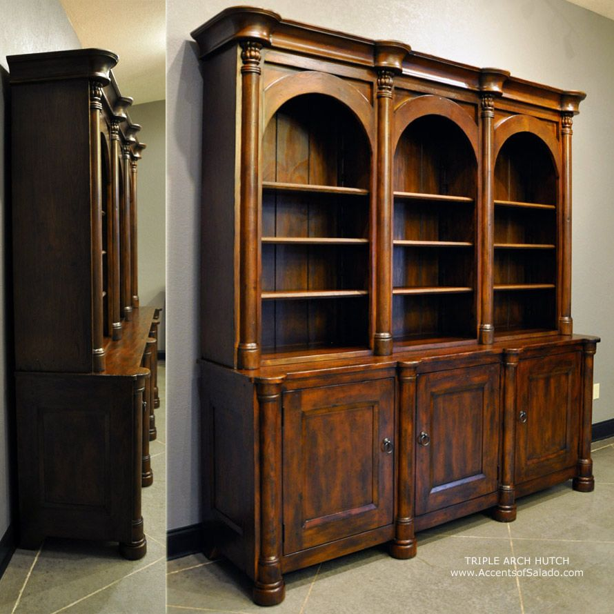 Tuscan Style Dining Room Furniture: This Dining Room Buffet And Server Are Designed For