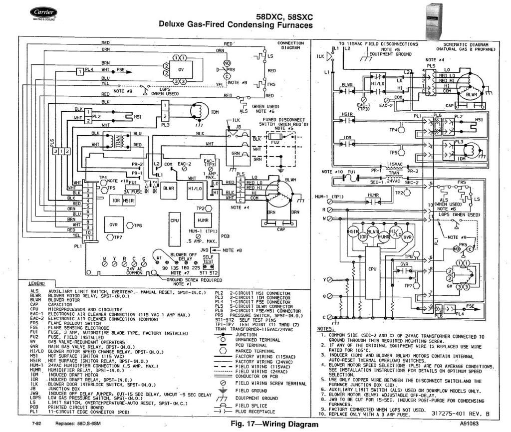 payne furnace parts diagram My Carrier High Efficiency