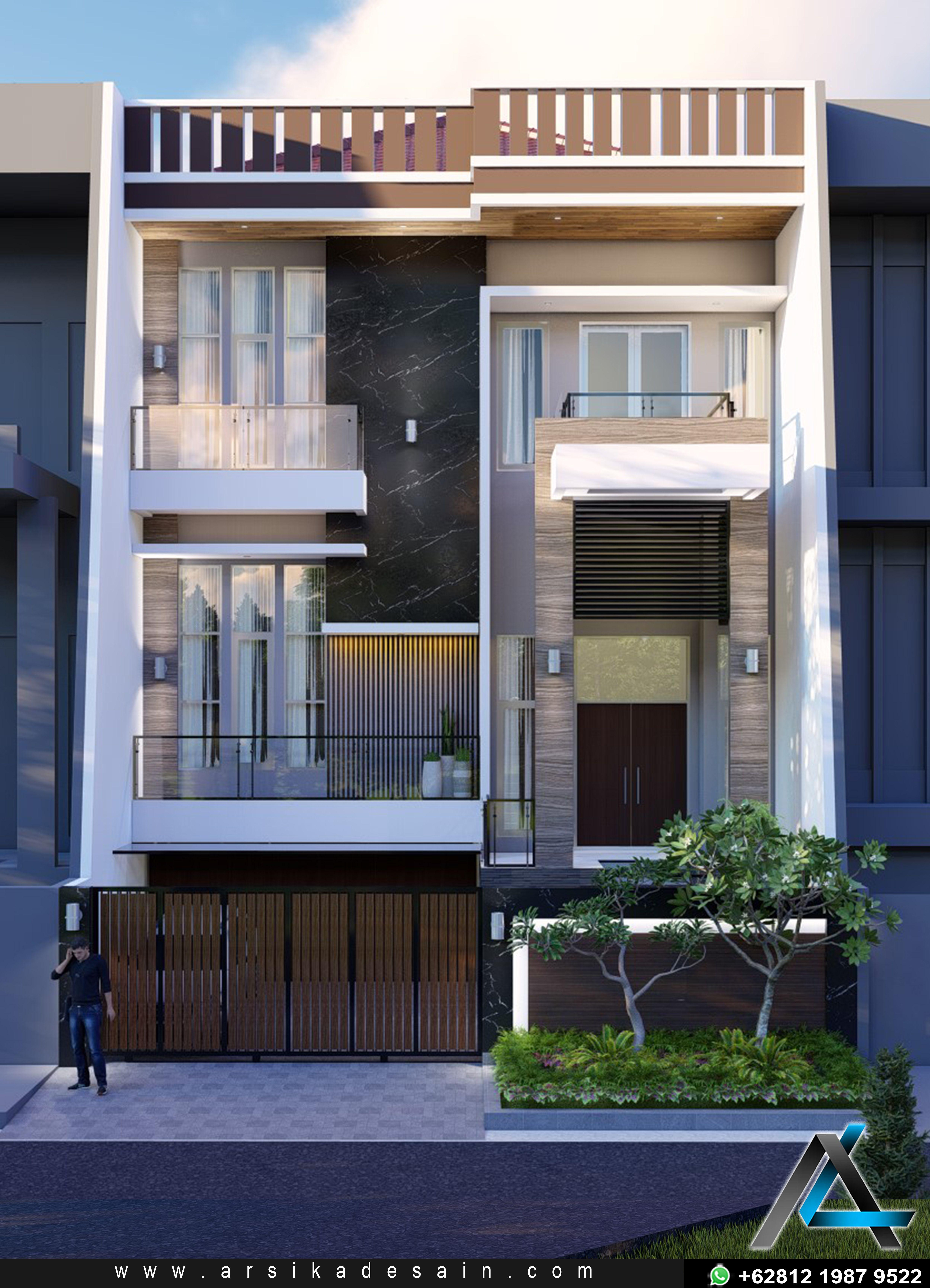 Rumah Minimalis 2 Lantai Bawah Toko