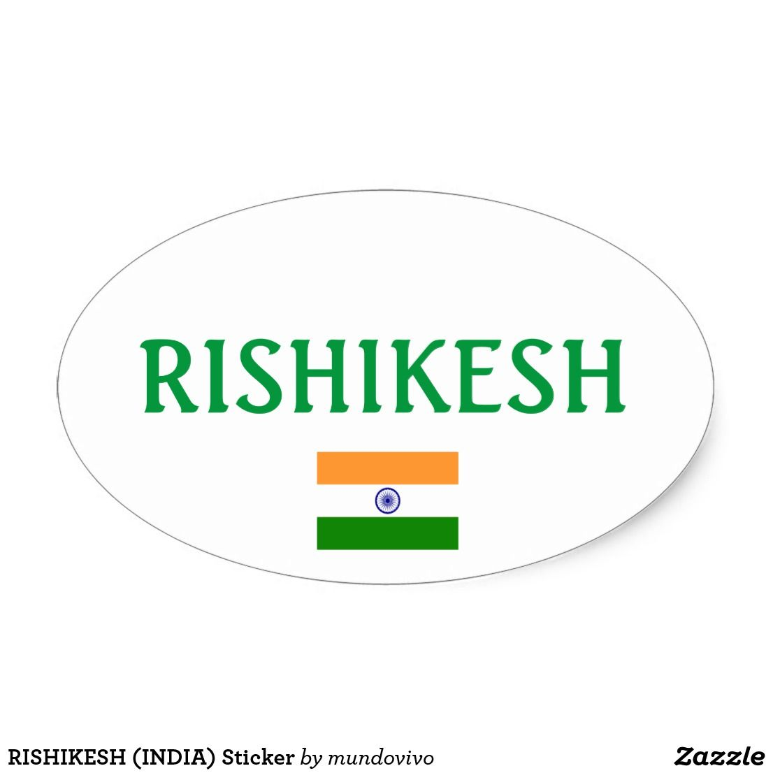 Rishikesh india sticker