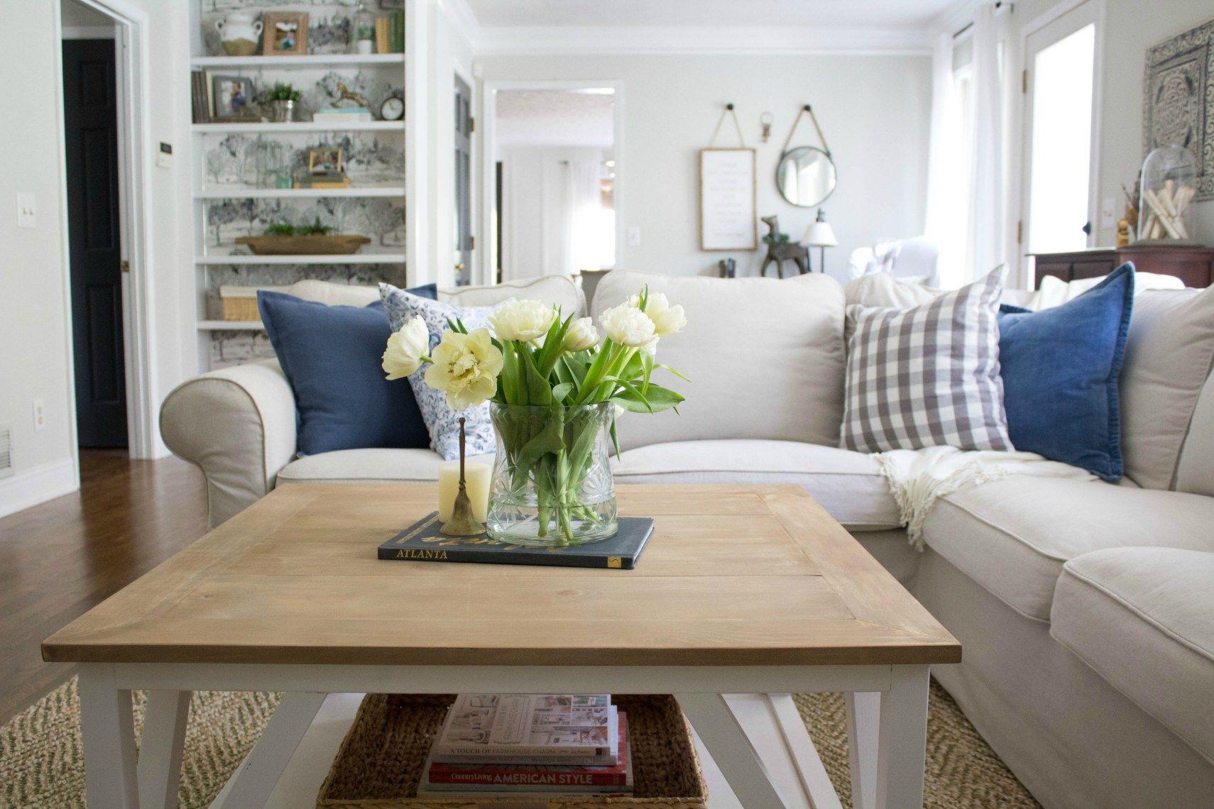 Diy modern farmhouse square coffee table modern