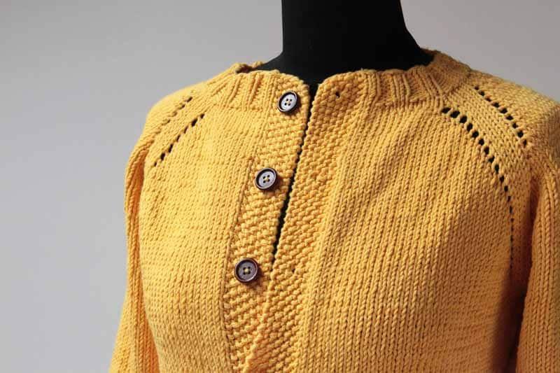Dámský pletený kabátek - návod  def9dd7a8a