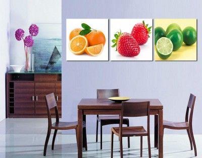 cuadro para comedor colorido | pinturas | Pinterest