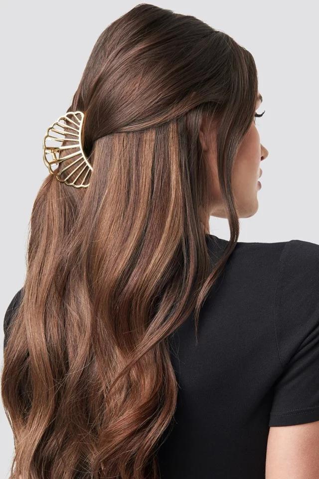 Star Hair Clip Gold Coole Frisuren Huftlanges Haar Selbstgemachte Frisuren