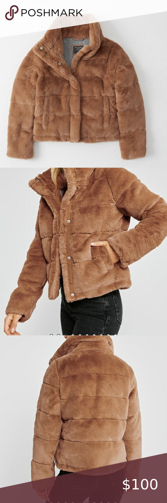 Need Gone Nwot Abercrombie Fitch Puffer Faux Fur Puffer Jacket Abercrombie And Fitch Jackets Clothes Design [ 1740 x 580 Pixel ]