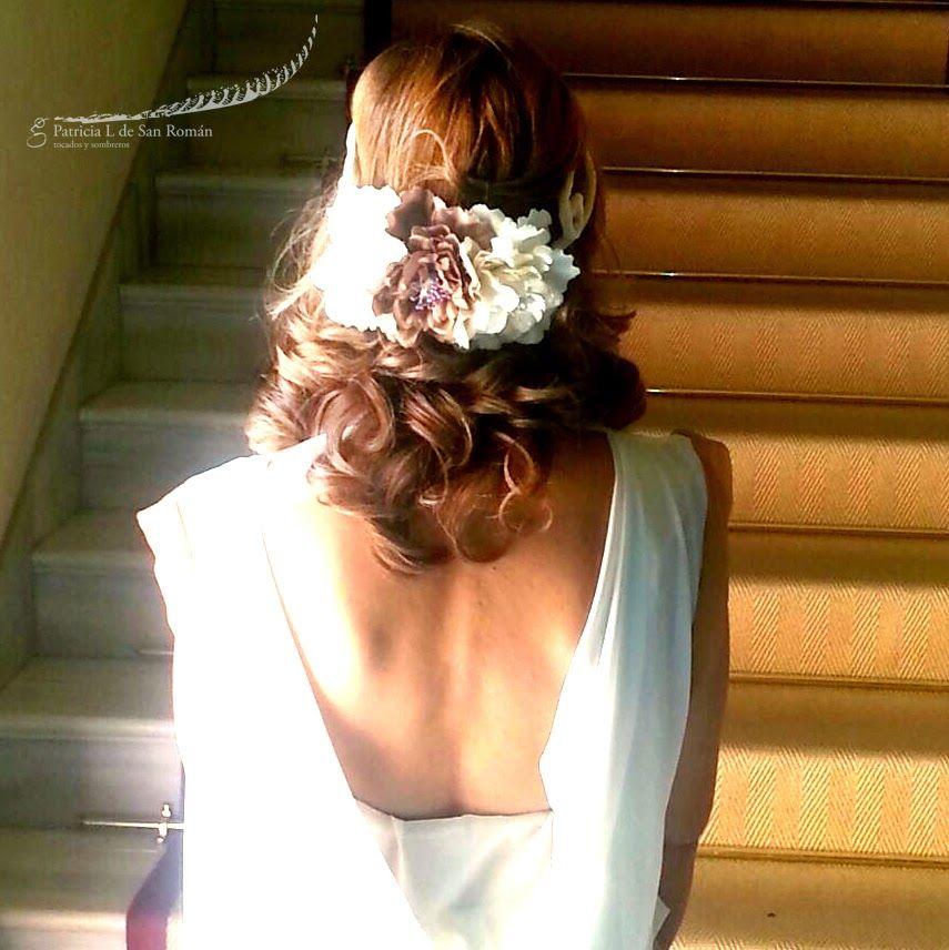 Tocados y tiaras: Octubre: Mes de las bodas