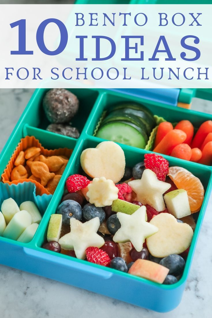 10 Bento Box Ideas For School Lunch