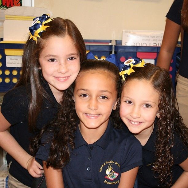 me gabi and ari best of friends going into second grade together
