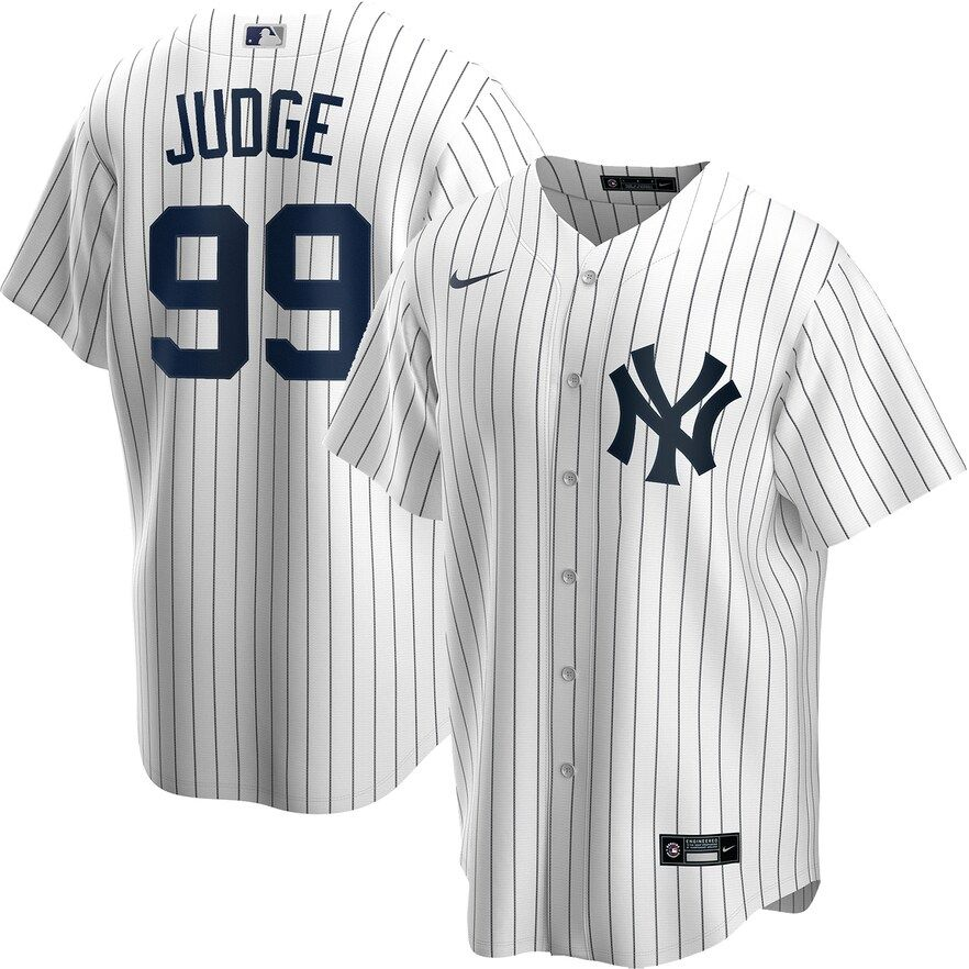 Men S Nike New York Yankees Aaron Judge Replica Jersey In 2020 New York Yankees Baseball New York Yankees Yankees Baseball
