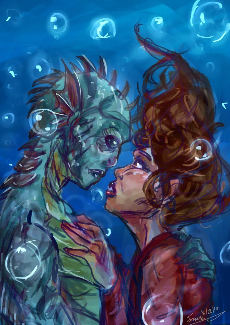 The Shape of Water by icelandicghost.deviantart.com on @DeviantArt