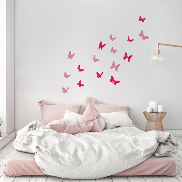 Butterflies wall decal | hardtofind.