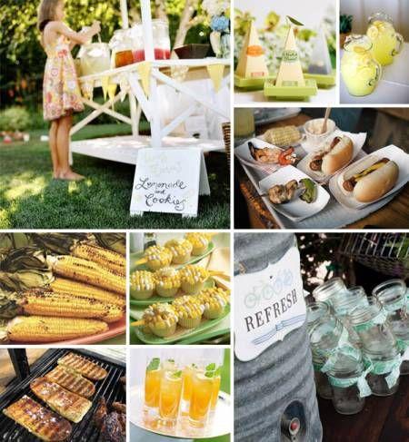 Summer Bbq Catering Food Displays Bbq Wedding Wedding Food