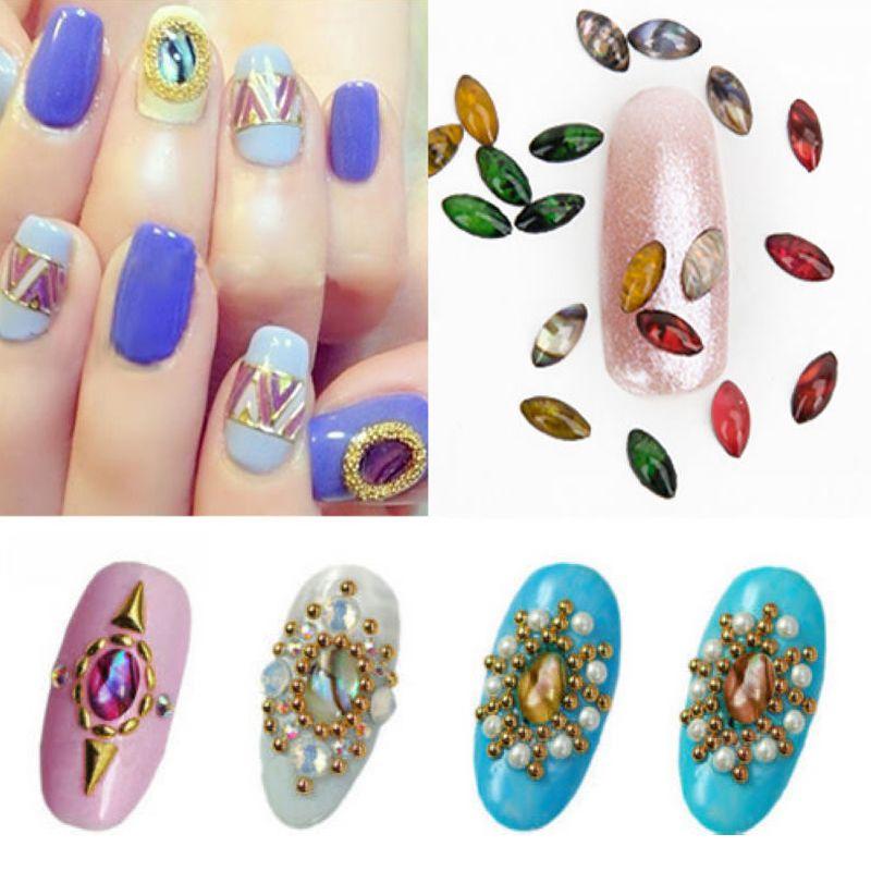 1Wheel Glitter 3D Glitter Rhinestones DIY Nail Art Tips Manicure Tool Decoration