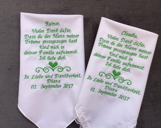 Deutsche Version Mama Hochzeit Taschentuch Mutter Der Braut Mutter Der Braut Customized Auslandische Version Bestickt Free Geschenk Box 1338 Brautigam Geschenk Geschenk Eltern Und Taschentucher