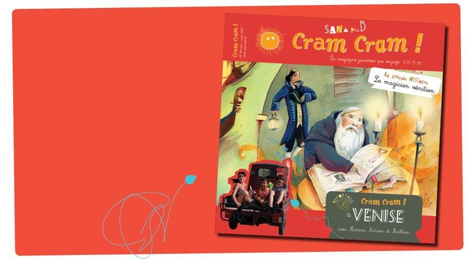 Cram cram, une revue sans pub sur des endroits du monde. 6-10 ans
