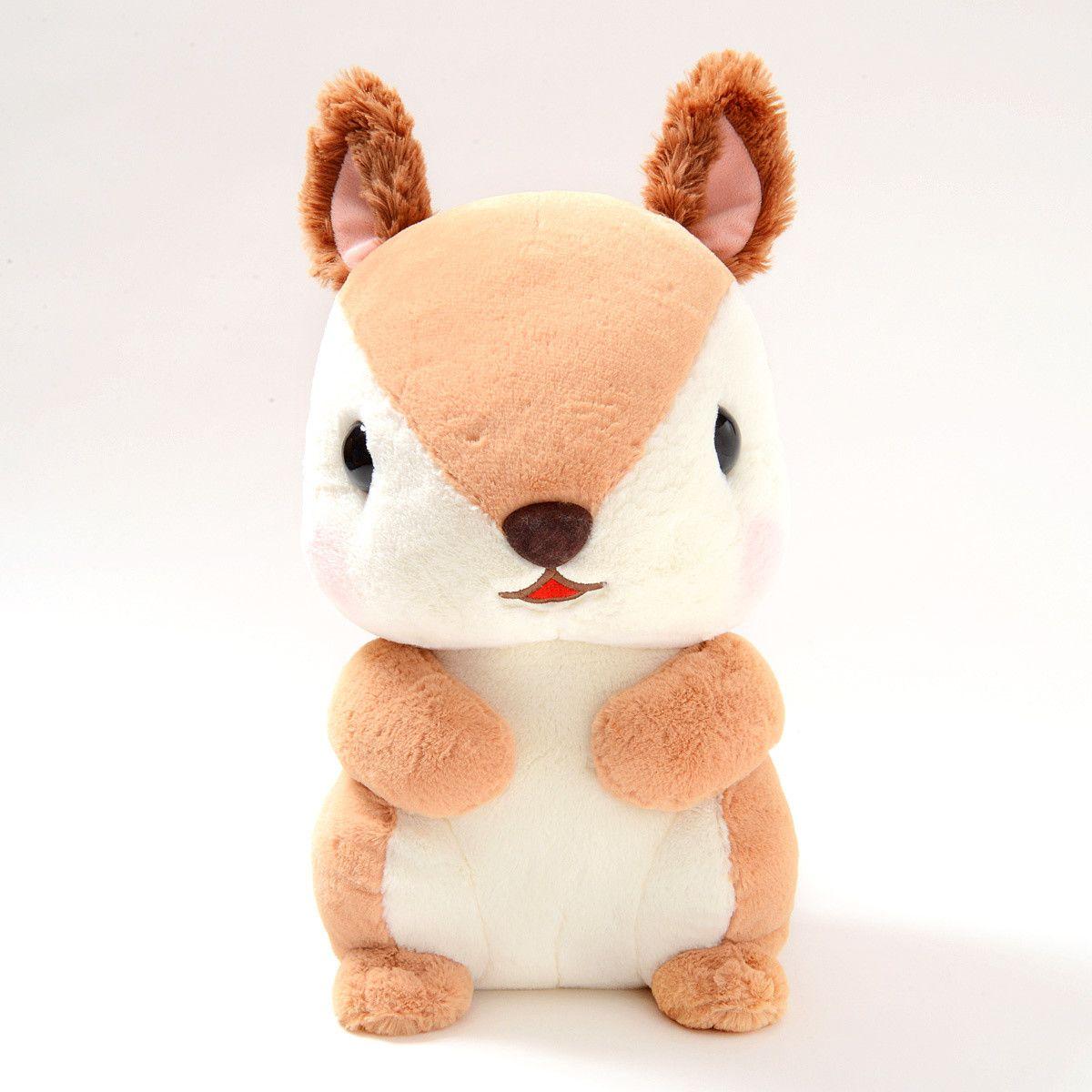 Korisu No Dongurin Lovely Squirrel Plush Collection Big Squirrel Plushies Cuddly [ 1200 x 1200 Pixel ]