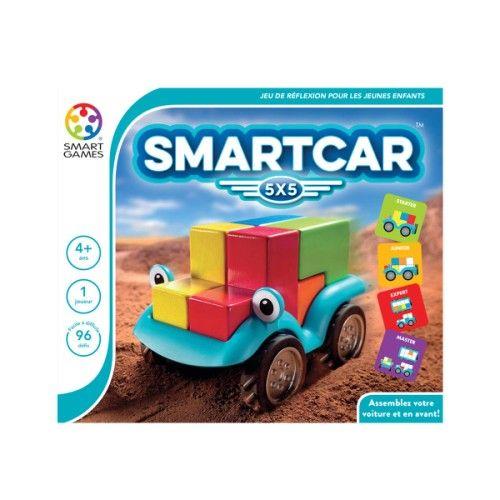 Casse-tête SmartCar 5X5 Smartgames pour enfant de 4 ans à 9 ans - Oxybul éveil et jeux   Planer ...