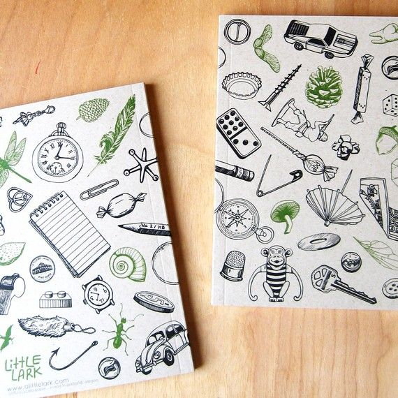 On Sale Collect Small Things Objects Journal Small By Alittlelark