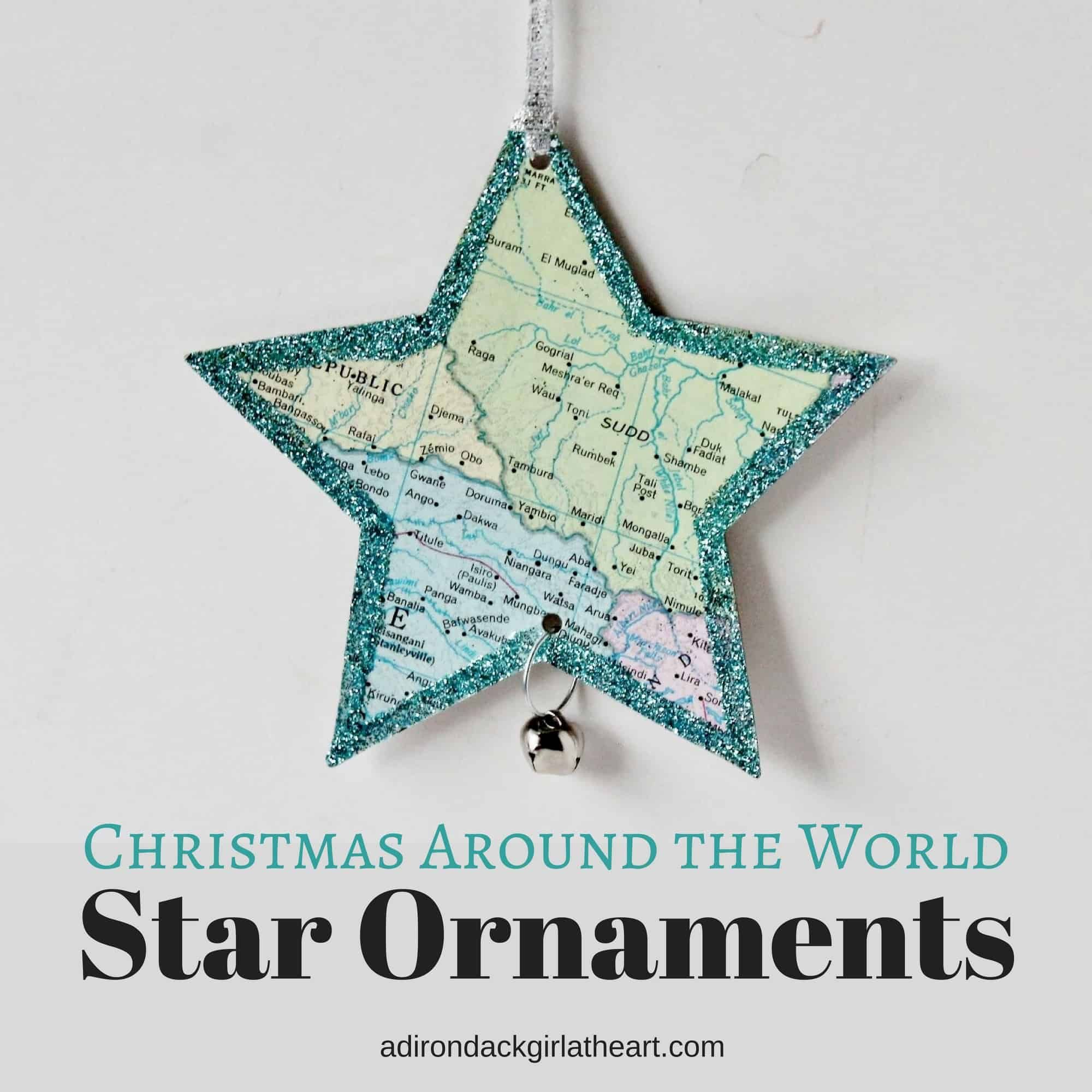 christmas decorations from around the world to make
