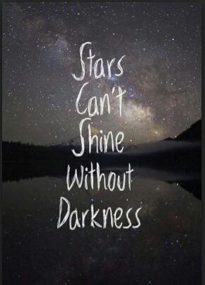 Stars, darkness, quote, night time, time to shine | Luv <3 ...