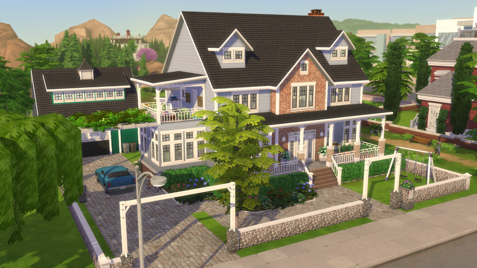 Really loving my latest family build It has to be my favourite to play in Can t stop playing this family now the Gallery under ID katsc84 if anyone is interested Happy Simming