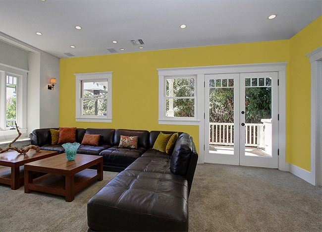 Colores de paredes con muebles oscuros pinturas for Muebles pintados de colores