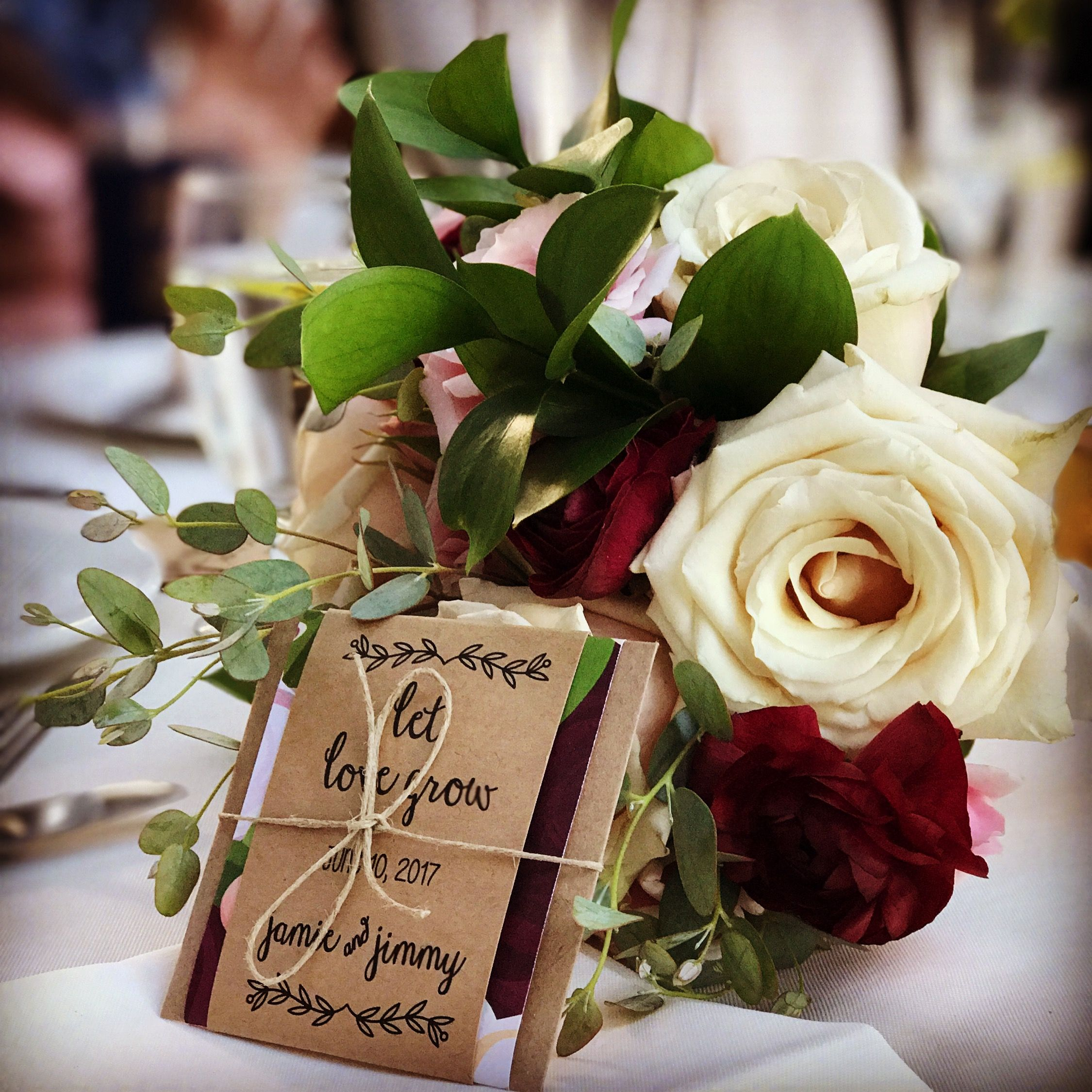 Custom Wedding Seed Packets Personalized Perfect For
