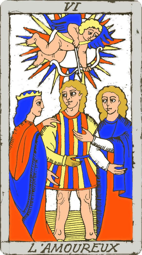 tarot le pape en amour
