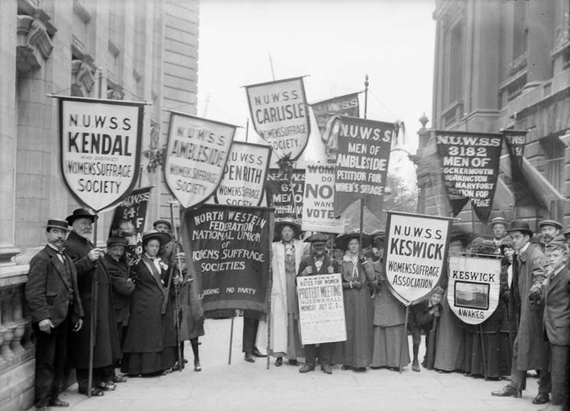 Image result for the national union of women's suffrage societies