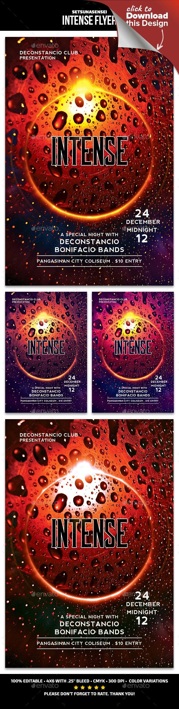 Intense flyer abstract abstract club flyer abstract electro abstract flyer club flyer colorphonic malvernweather Image collections