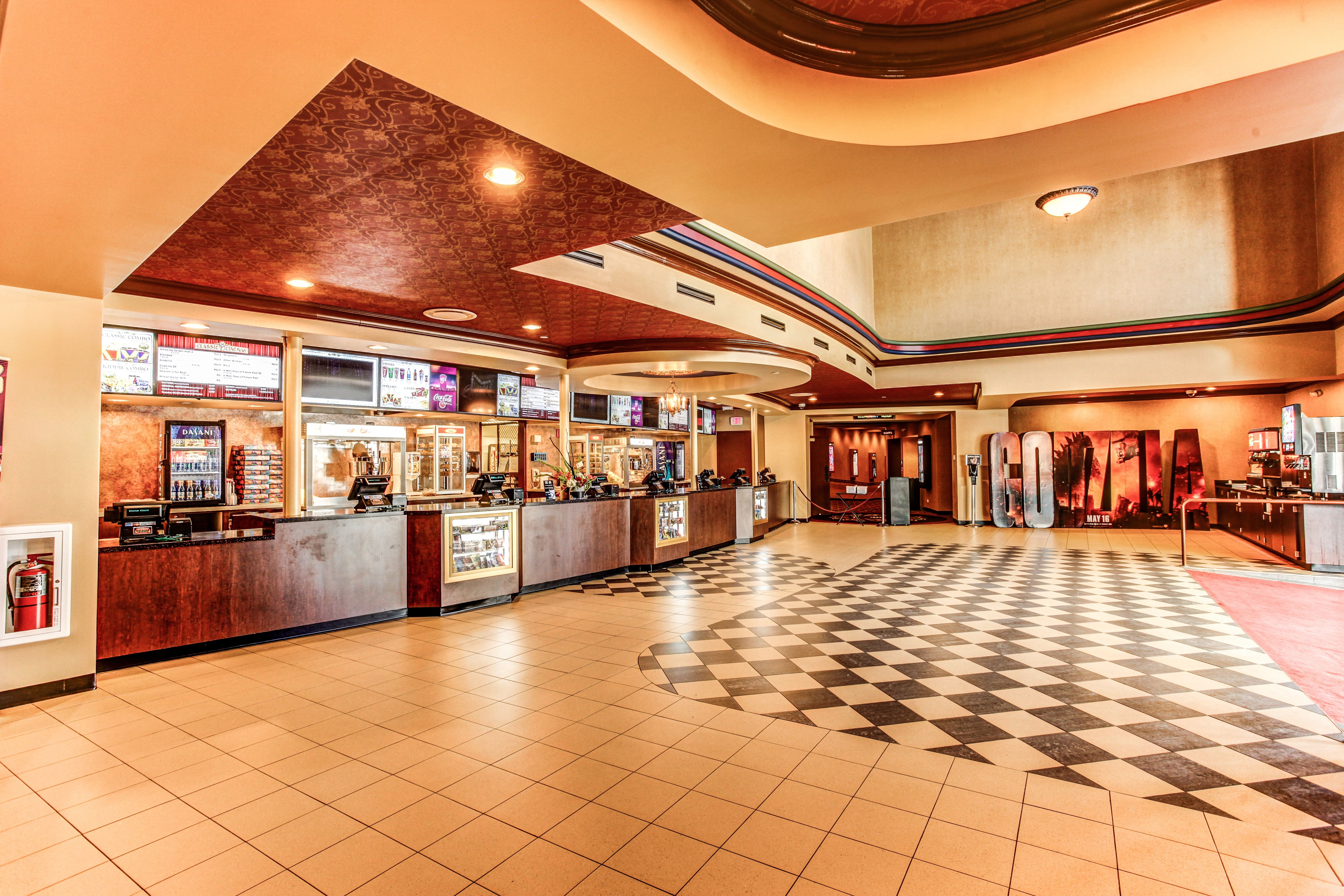 Tivoli Theater Downers Grove It's A Wonderful Life The New Classic Cinemas Woodstock Theatre Concession Stand And