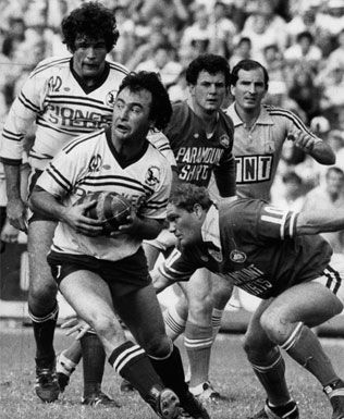 """9. Max Krilich 1970-83 (215 games)   Hooker  Max Krilich was the hooker for the Australia national team, playing in 13 Tests from 1978 to 1983 and as captain on 10 consecutive occasions in 1982 and 1983. He was the captain of the 1982 """"Invincibles"""" Australian touring side. Max was graded by the Manly Sea Eagles in 1969 when hooker Freddie Jones was the Manly captain. Krilich had to bide his time and played in over 100 reserve grade games till 1974 before he cemented the first grade position."""