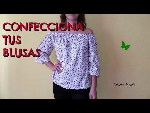 Tutorial para YouTube Blusa y Clothes 3 mujer DIY patrones dTHwIqdP