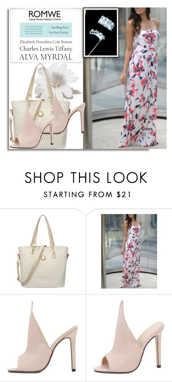 """""""ROMWE 7/3"""" by melissa995 ❤ liked on Polyvore featuring Tiffany & Co."""