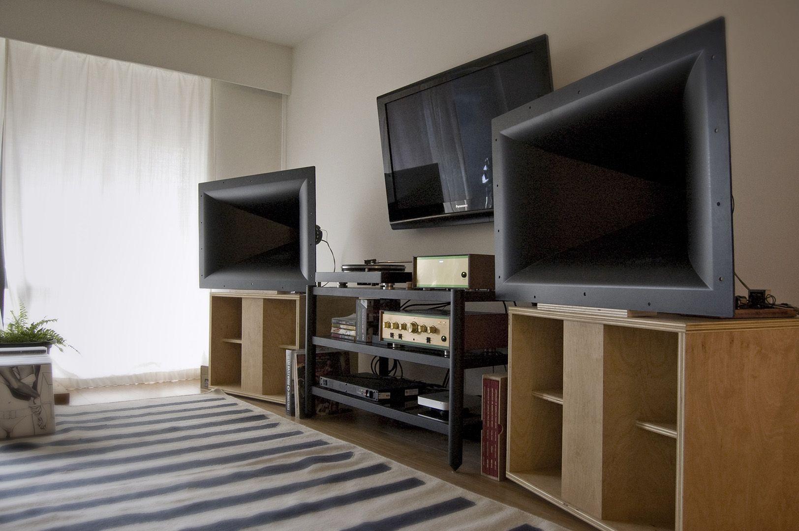 Steve Bedard Klipsch K-402 DIY Speakers